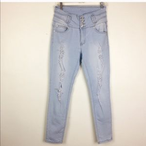 Denim - H&Y Distressed Jeans Colombian Style 11/12